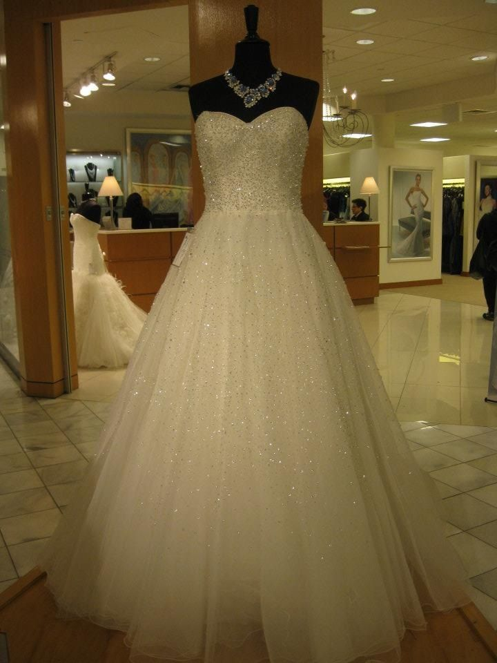 Dream wedding dress in macy 39 s nyc once upon a dream for Macy s dresses for weddings