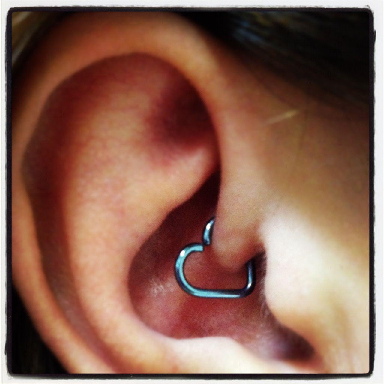 heart daith leroi piercing jewelry pinterest