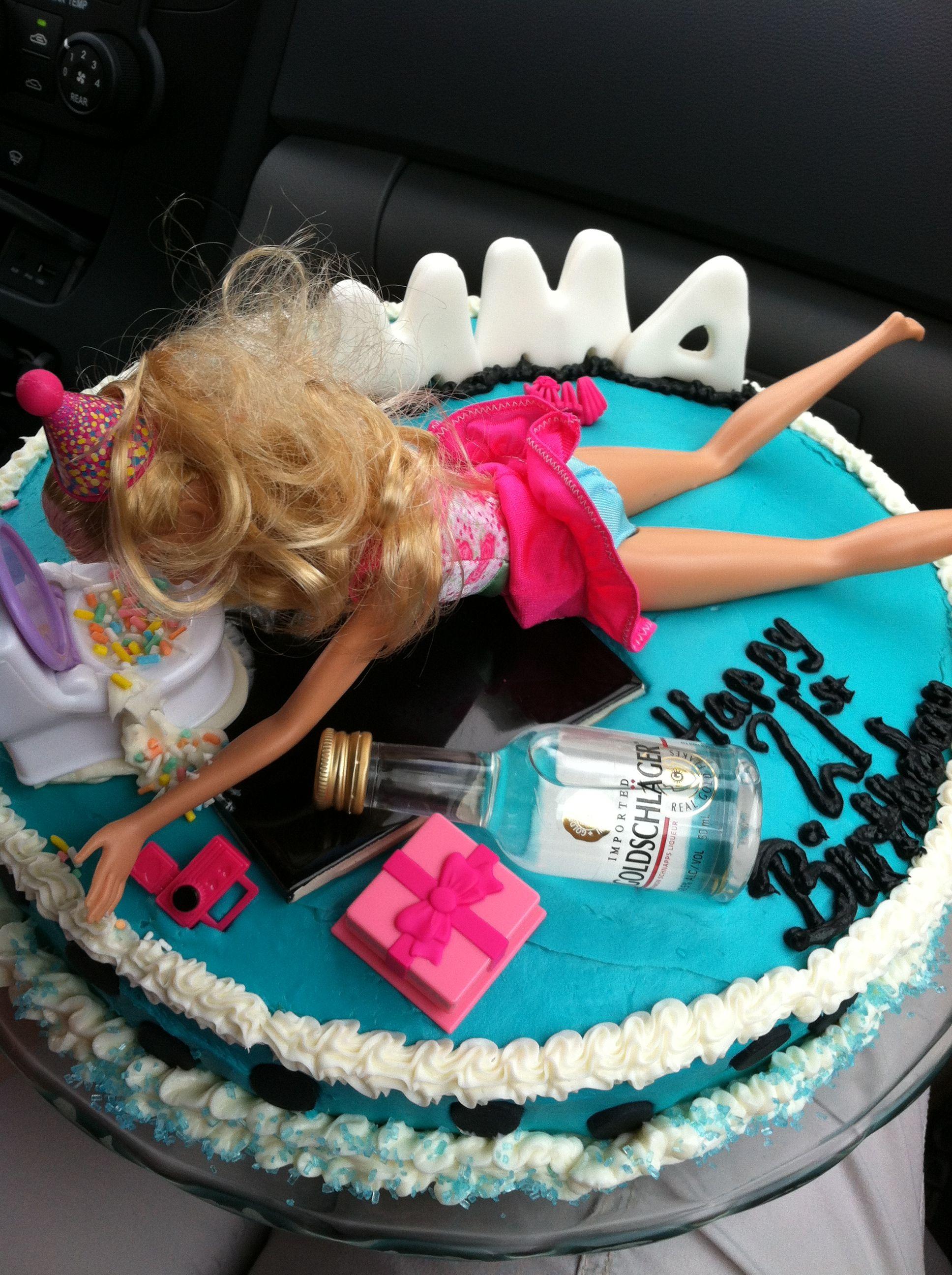 21st birthday cake | Funny | Pinterest