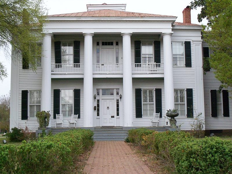 Greek revival fair oaks antebellum pinterest for Antebellum homes