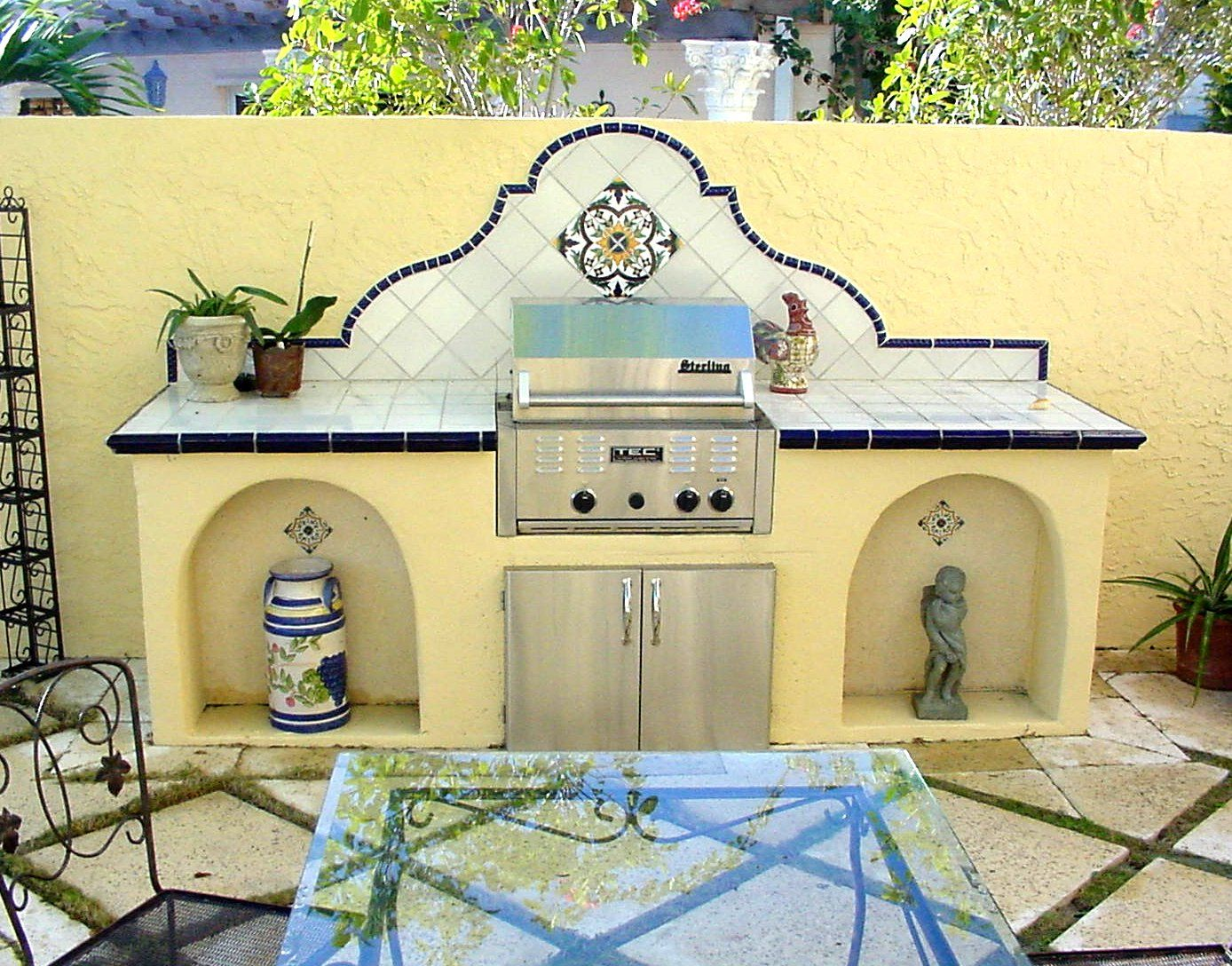 Outdoor kitchen ideas for mexico pinterest for Mexican outdoor kitchen designs