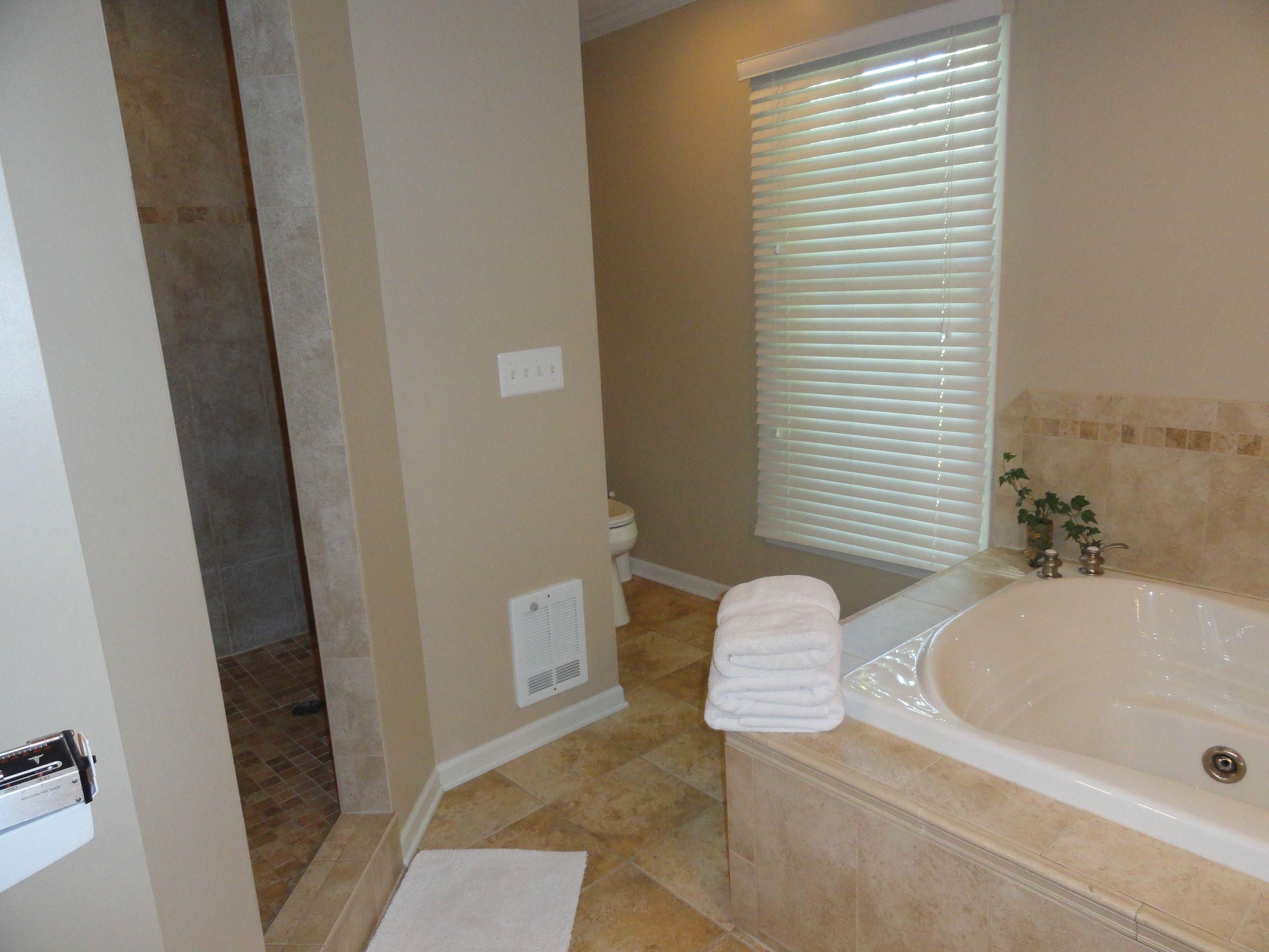 Walk in shower no door love it home improvement bathing space pinterest - Walk in shower no door ...