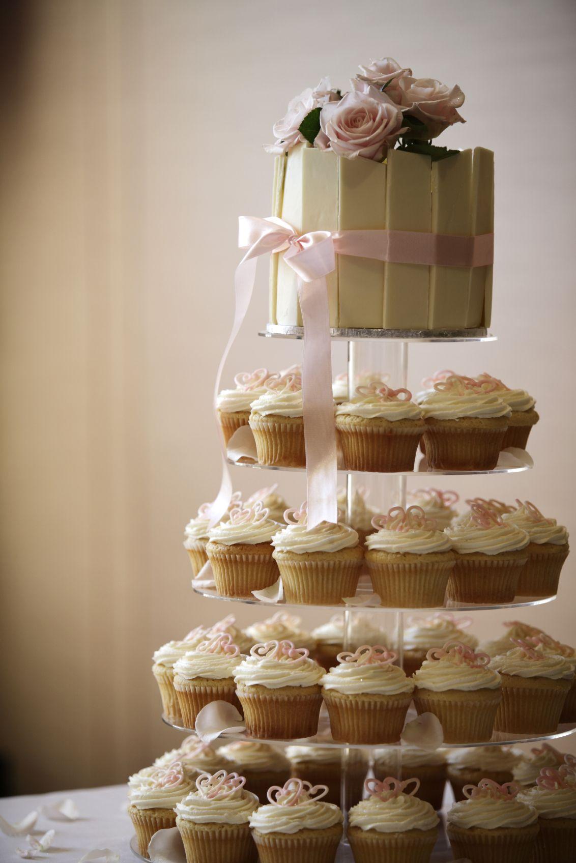 Wedding Cupcake Tower Weddings