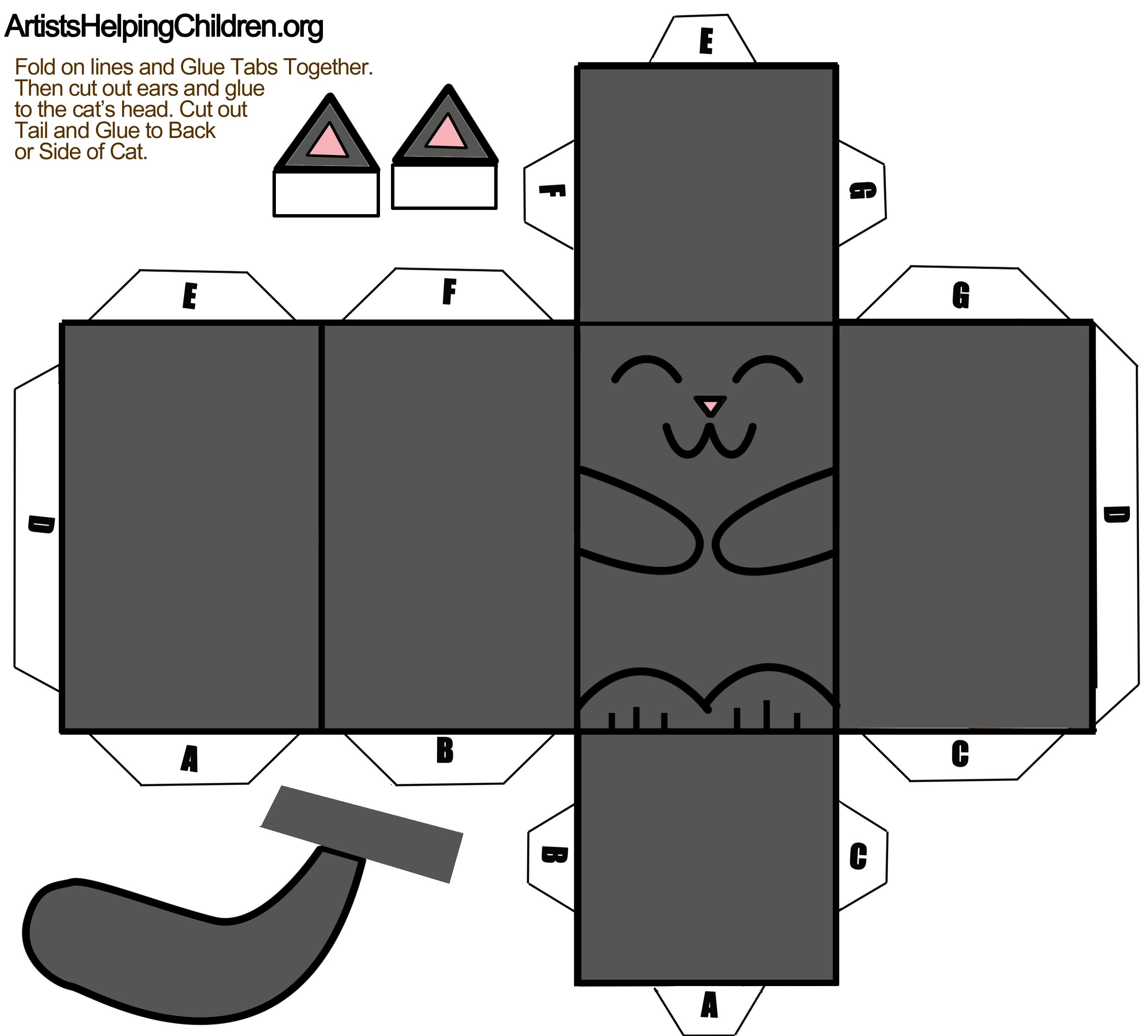 Как сделать игрушку для кота из бумаги легкую