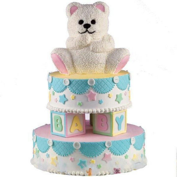 Wilton baby shower cake Great Ideas for Cakes Pinterest