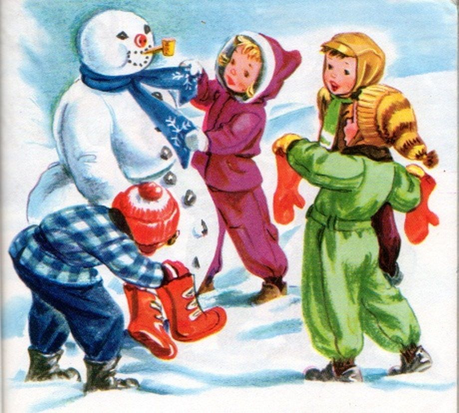 Building Frosty the Snowman   It's a Kids Christmas   Pinterest