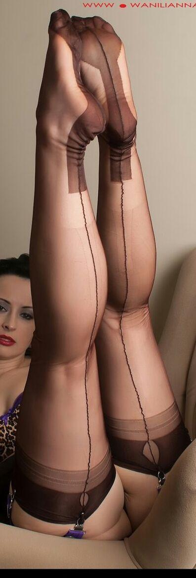 Stockings http://ift.tt/1tVd6eJ   Women nylon   Pinterest ...
