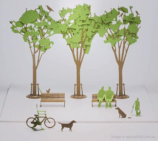 Деревья на макет своими руками 139