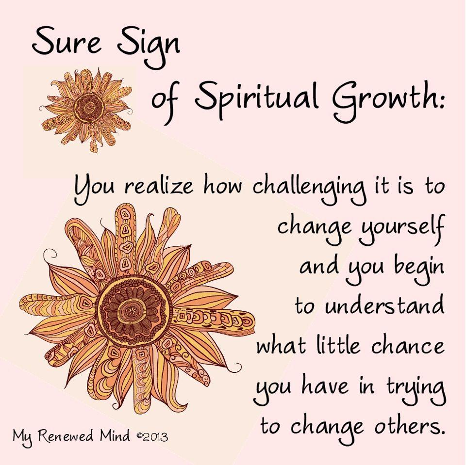Spiritual growth Quotes Pinterest