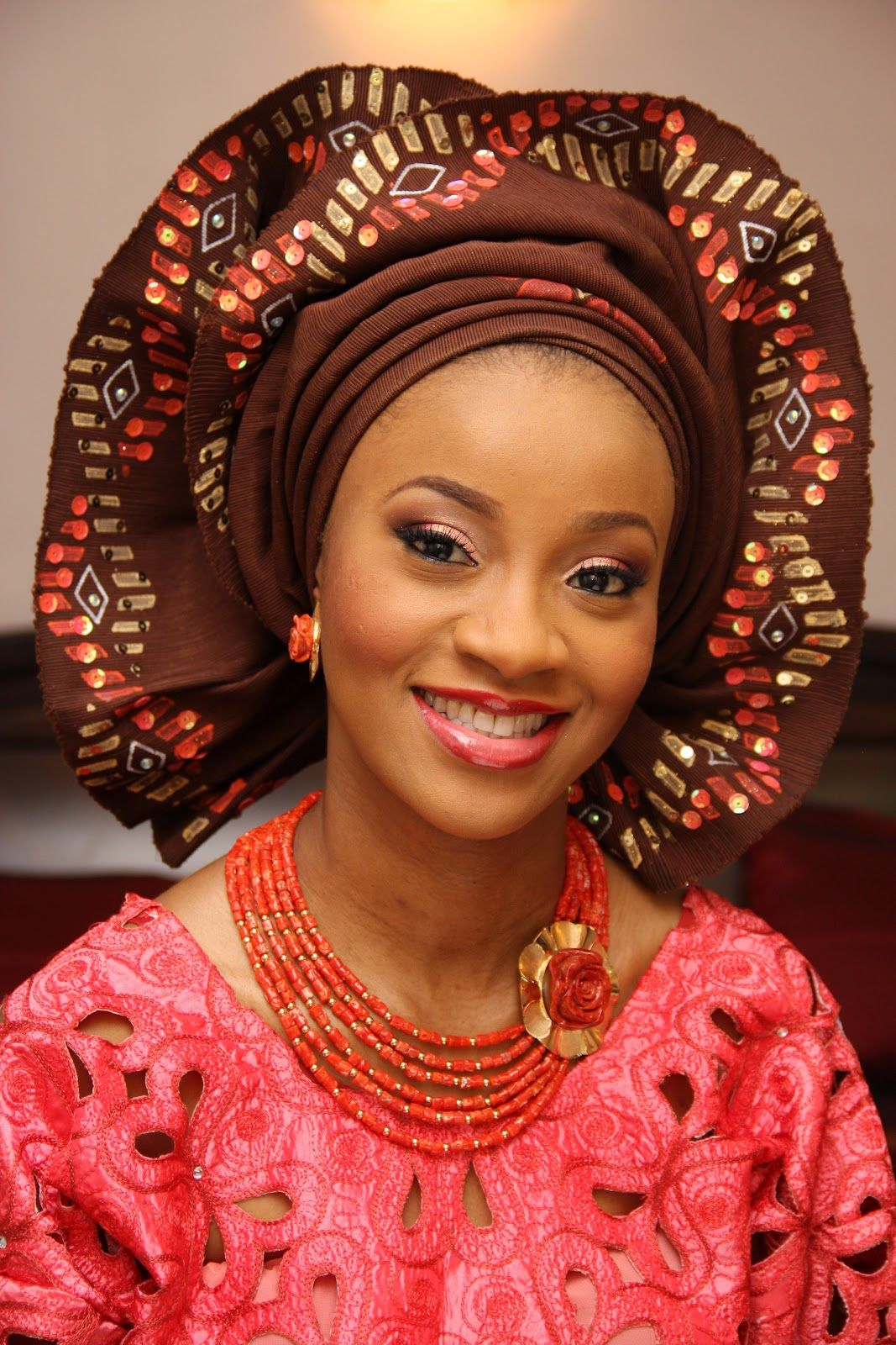 43 best Gele Head Ties for Nigerian Weddings images on Pinterest Pictures of nigerian head ties
