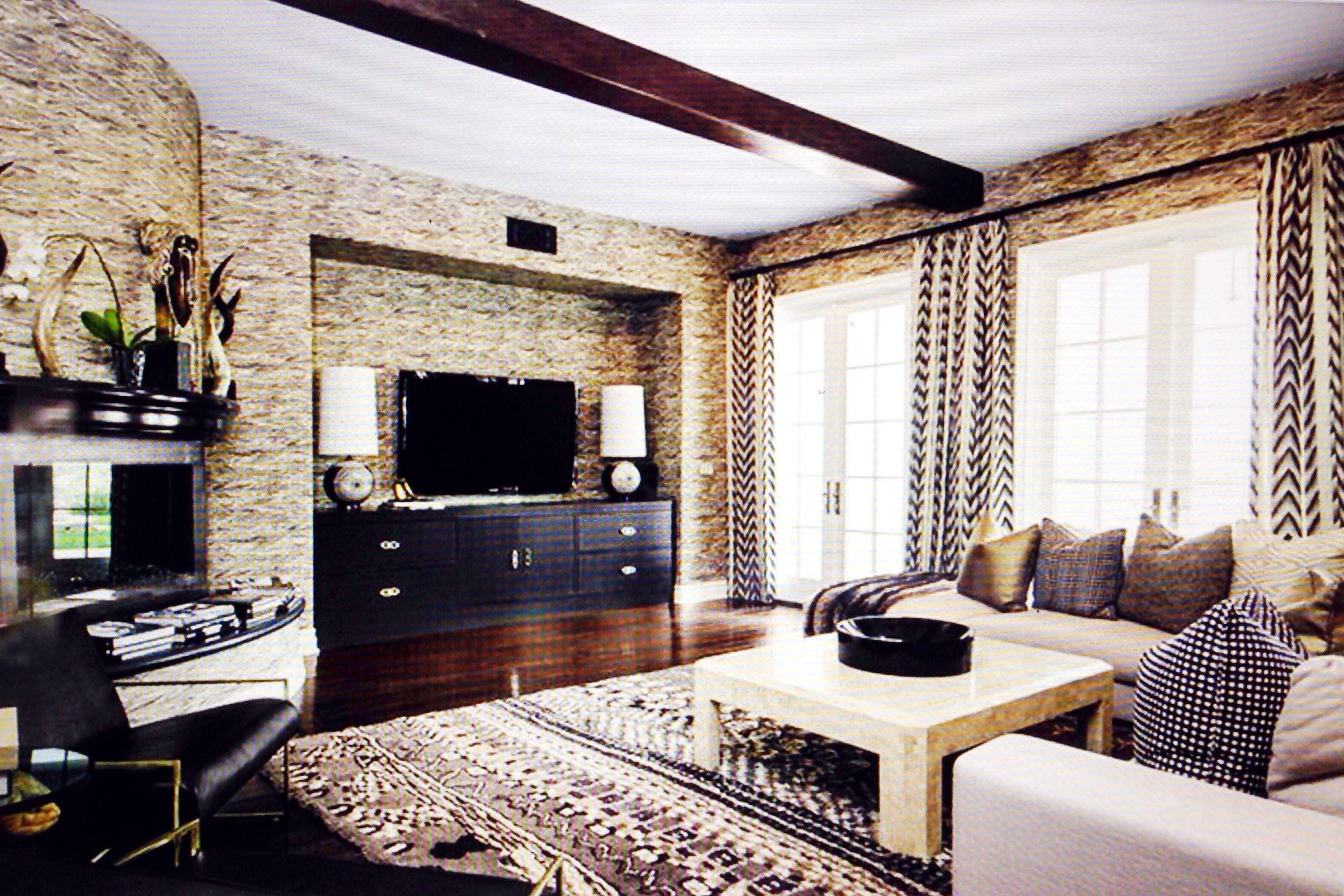 Kourtney Kardashian 39 S Family Room Home Sweet Home