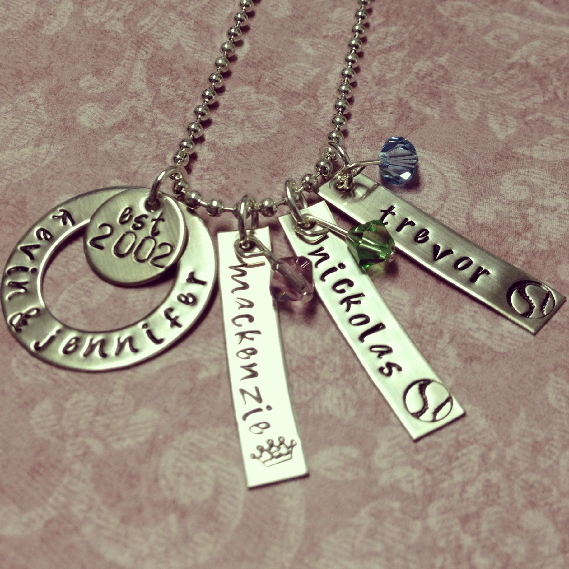 Hand stamped metal jewelry jewelry pinterest for How to make hand stamped jewelry