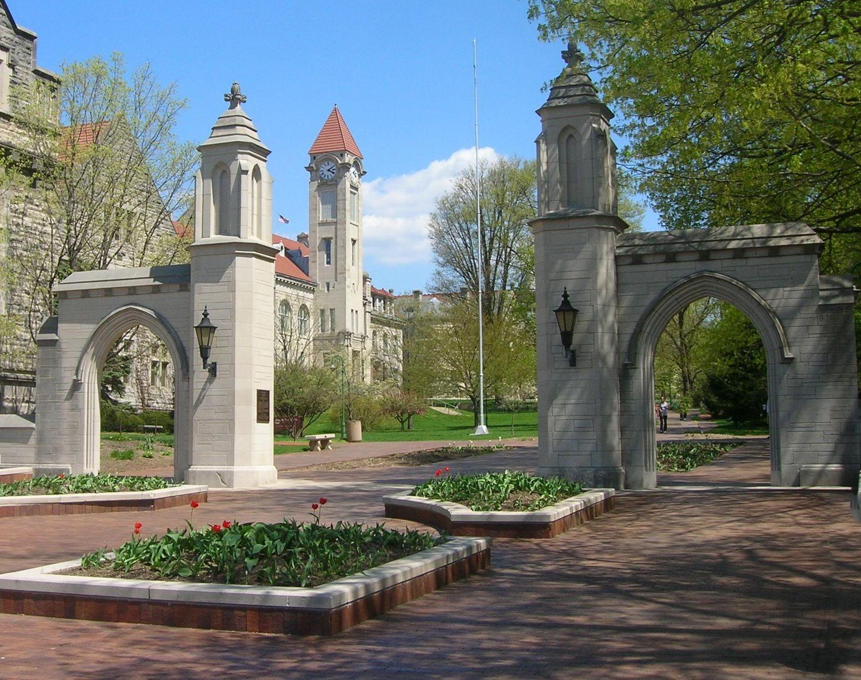Indiana University Places Spaces Pinterest