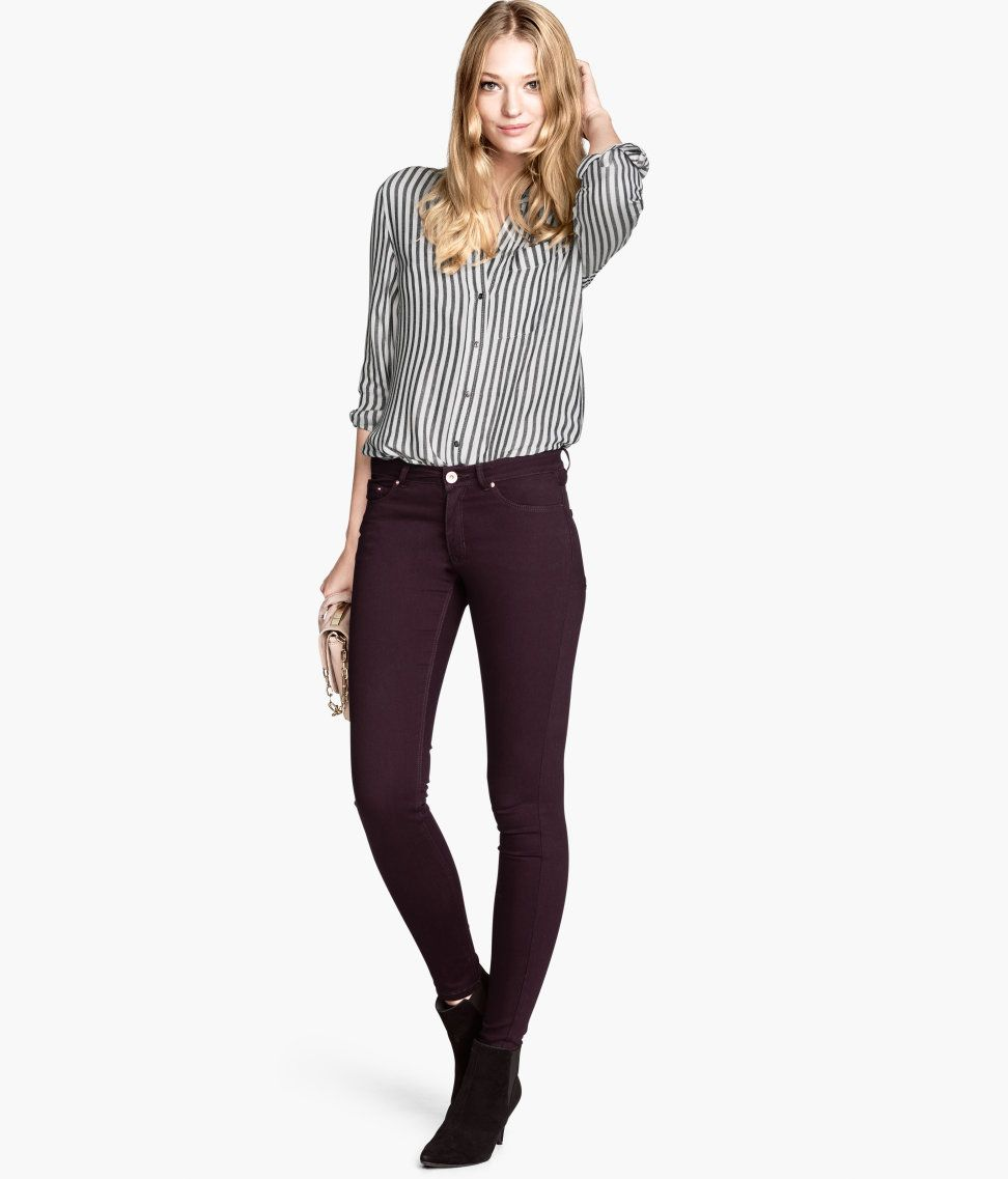 Blouse, Pants, and Booties from H & M | Women's Fashion | Pinterest