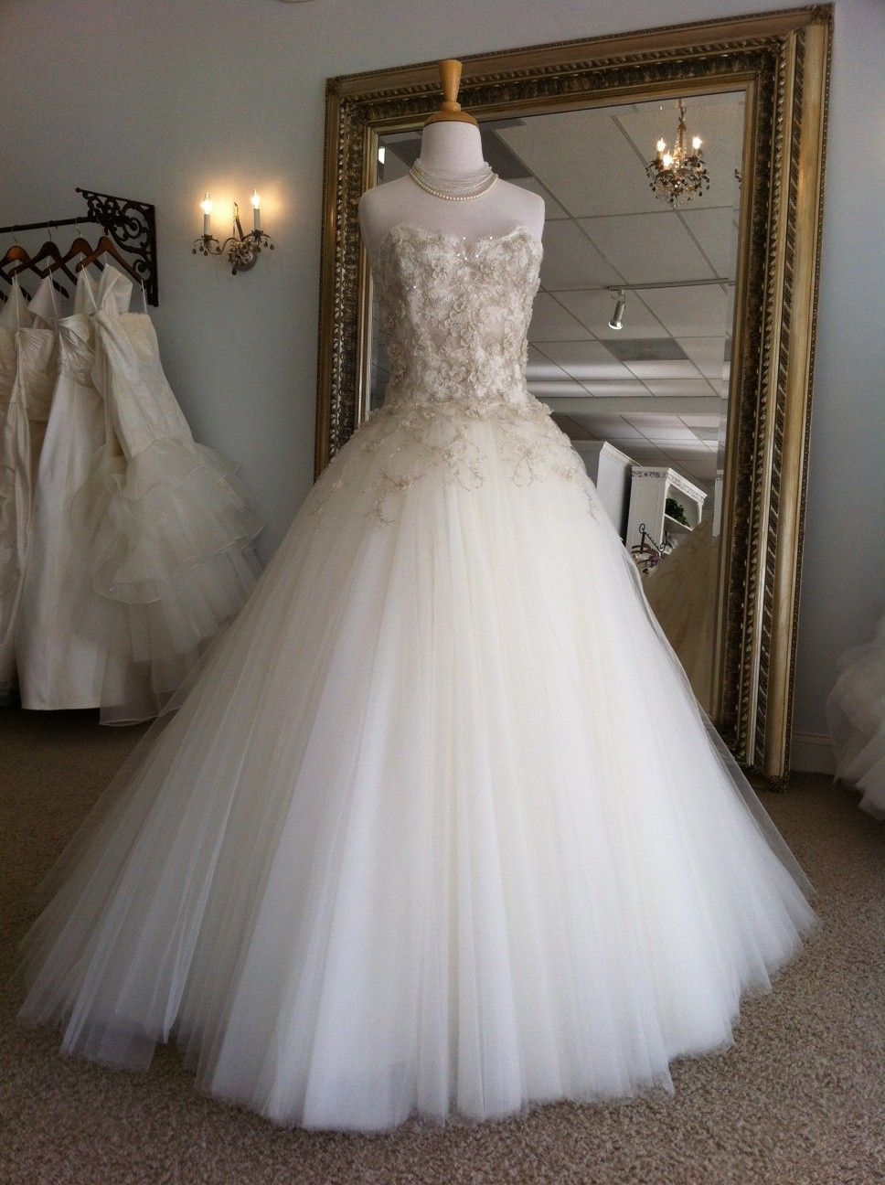 Fairy tale wedding dress dresses to make pinterest for Fairy tale wedding dresses