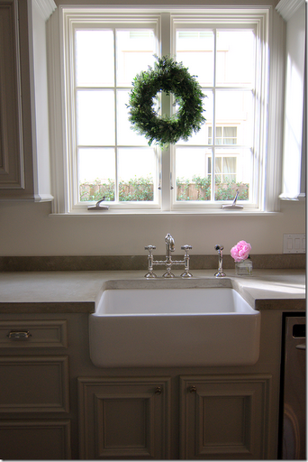 Over Counter Farmhouse Sink : cement countertops