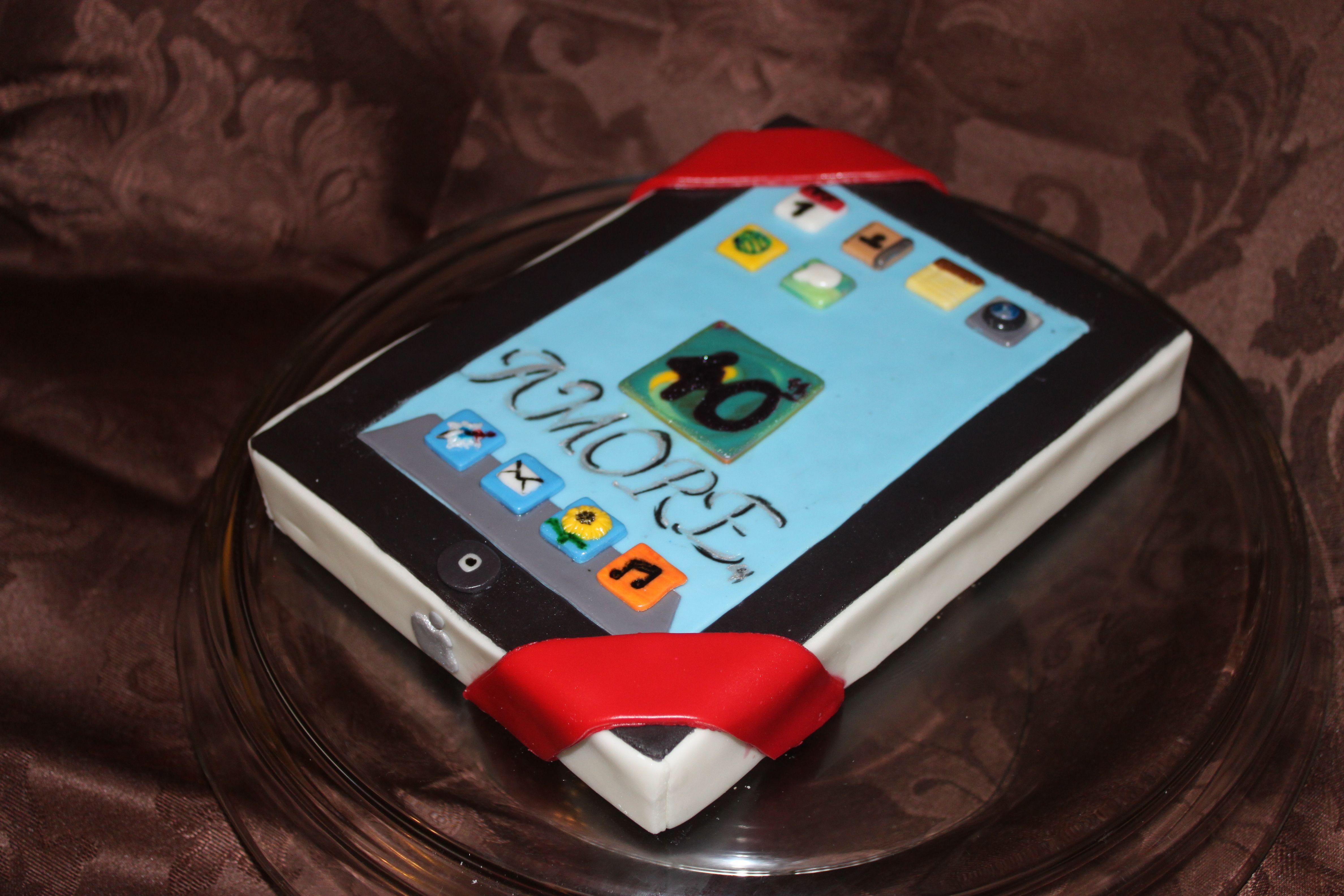 Ipad Cake Creative Cake Ideas Pinterest