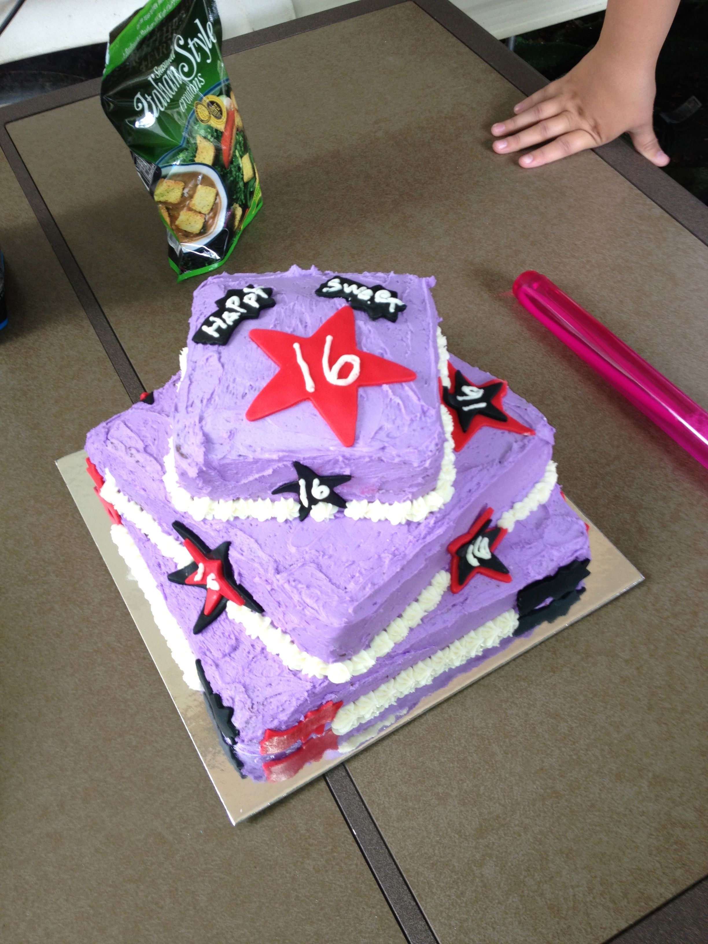 Cake Ideas For A 16th Birthday Party : 16th Birthday Cake 16th Birthday Party Ideas Pinterest