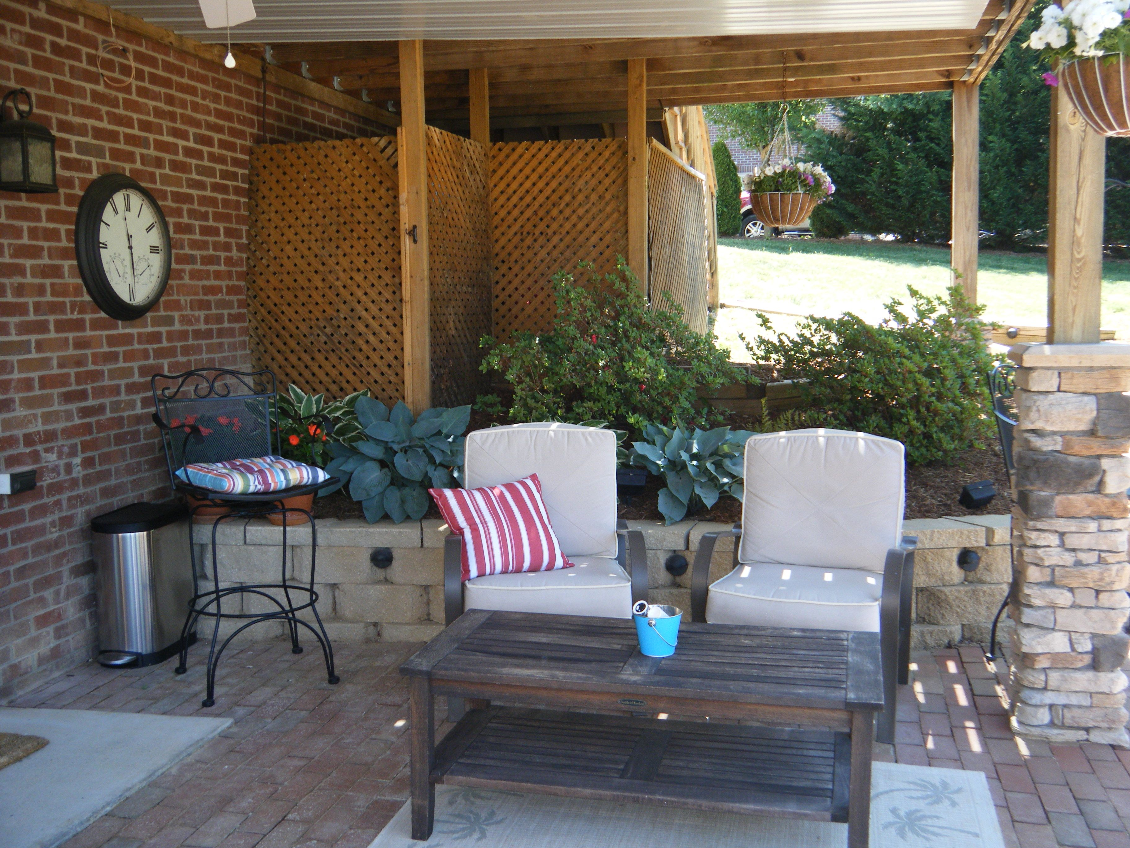 love for our walk out basement outdoor spaces pinterest