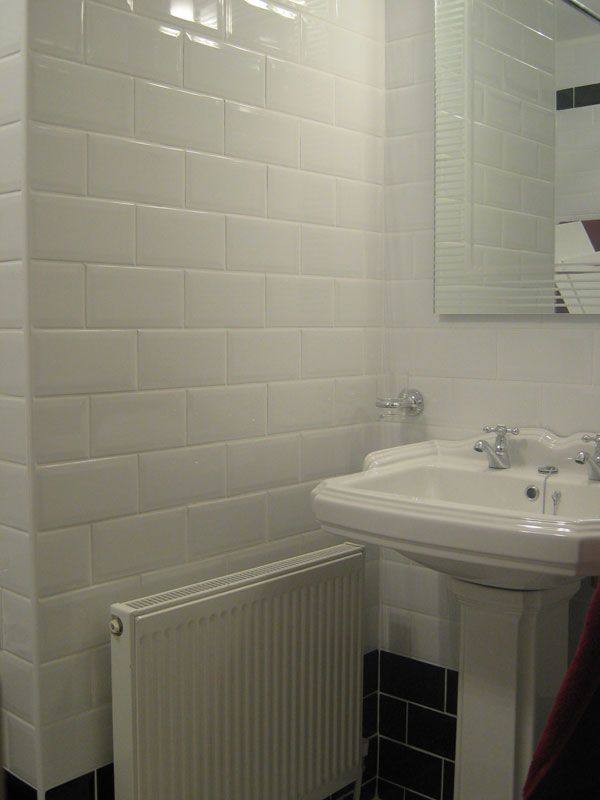Subway Tiles Bathrooms Pinterest