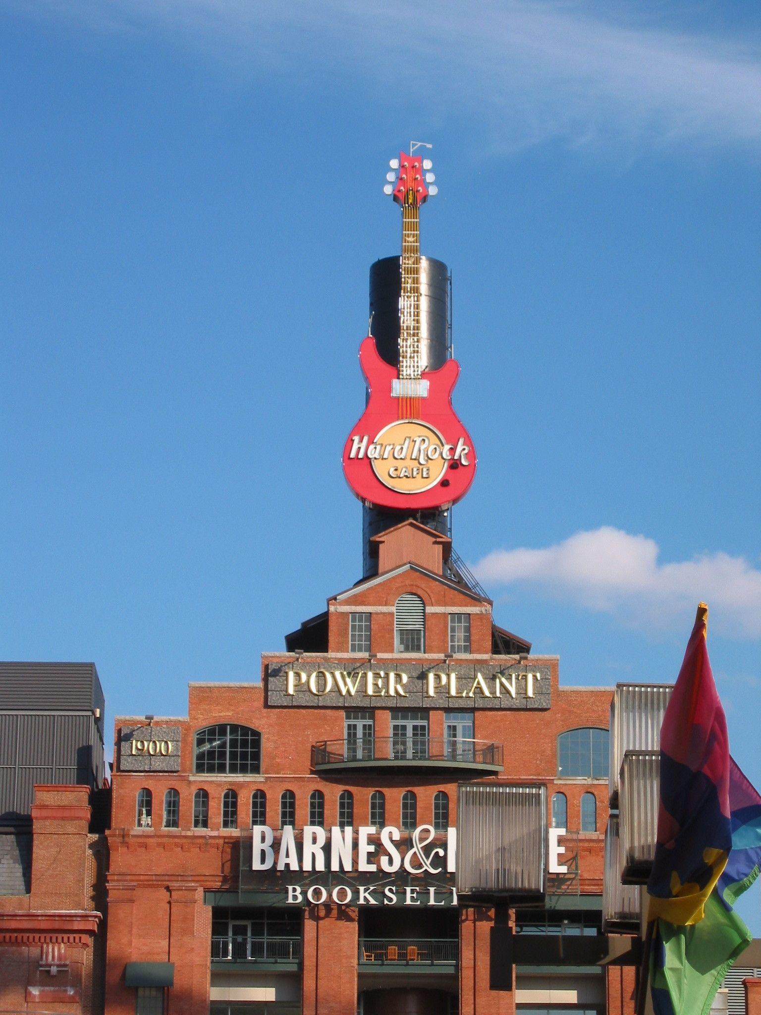 Hard Rock Cafe Inner Harbor