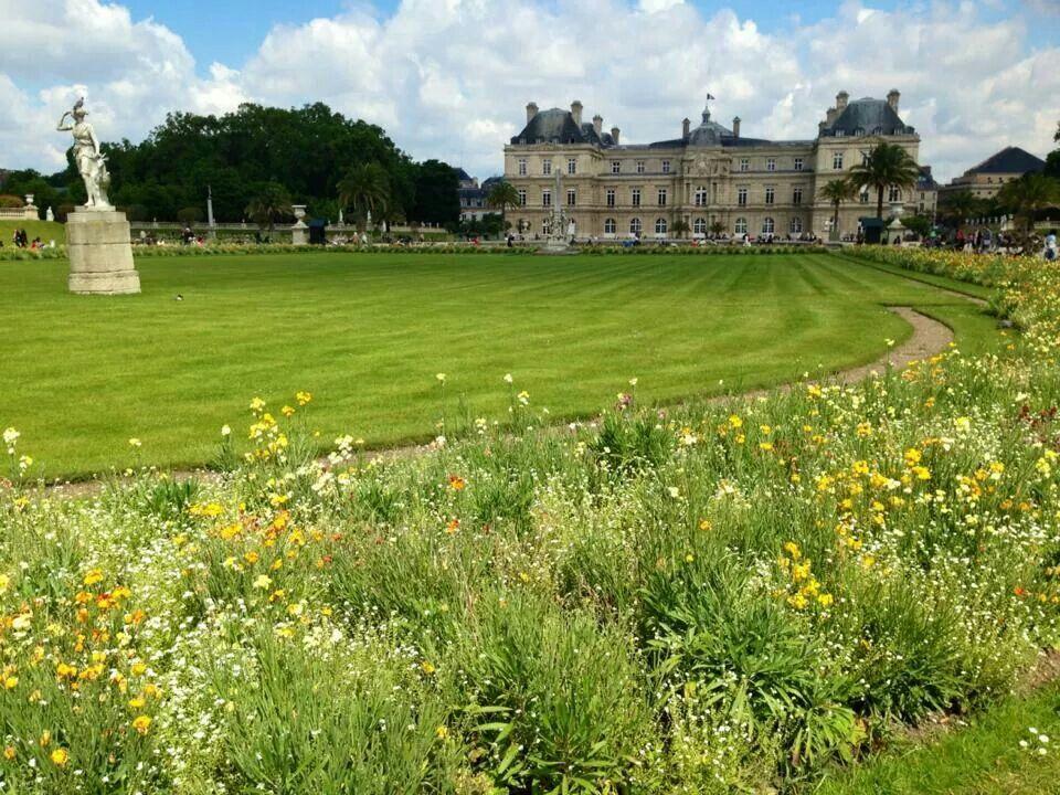 jardines de luxemburgo paris francia este bello
