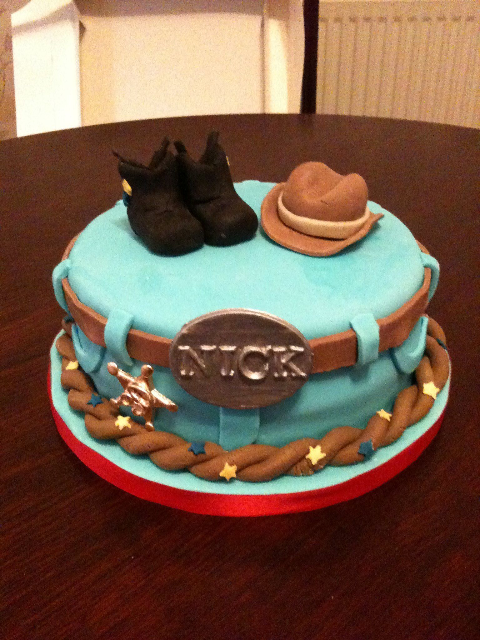 Kids Cowboy Cake Ideas 53277 Cowboy Themed 30th Cake Dads