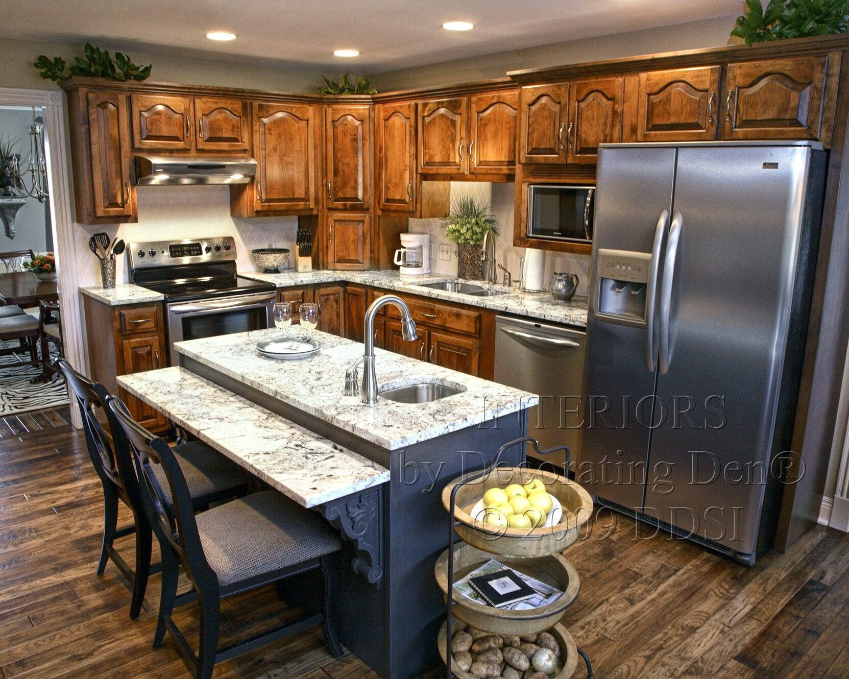 A cozy mountain kitchen kitchen interior design pinterest for Mountain kitchen designs