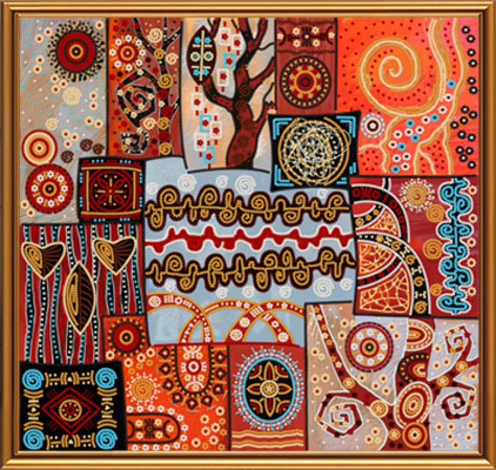 Орнаменты, узоры и схемы для вышивки Лана Митрозор Фотографии 82