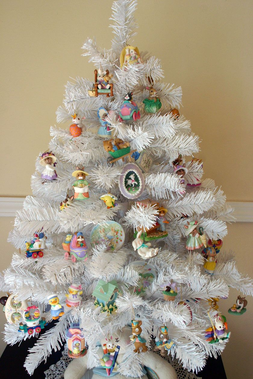 Easter Tree Easter Decorations Pinterest