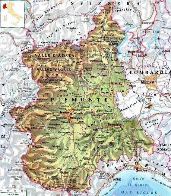 Cartina Politica Del Piemonte Baiestinebun