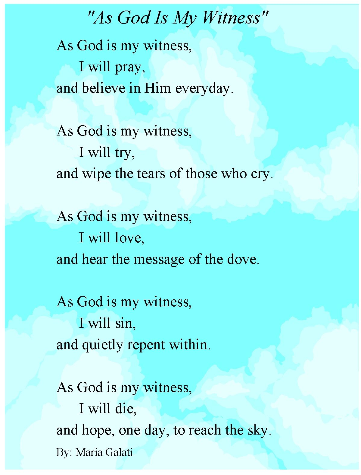 poems for seniors at church | just b.CAUSE