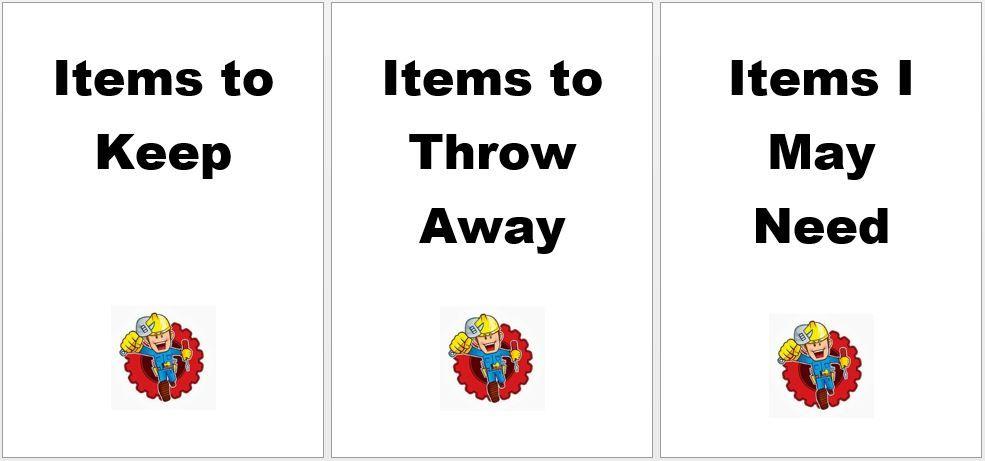 Handywork Solutions Decluttering Kit