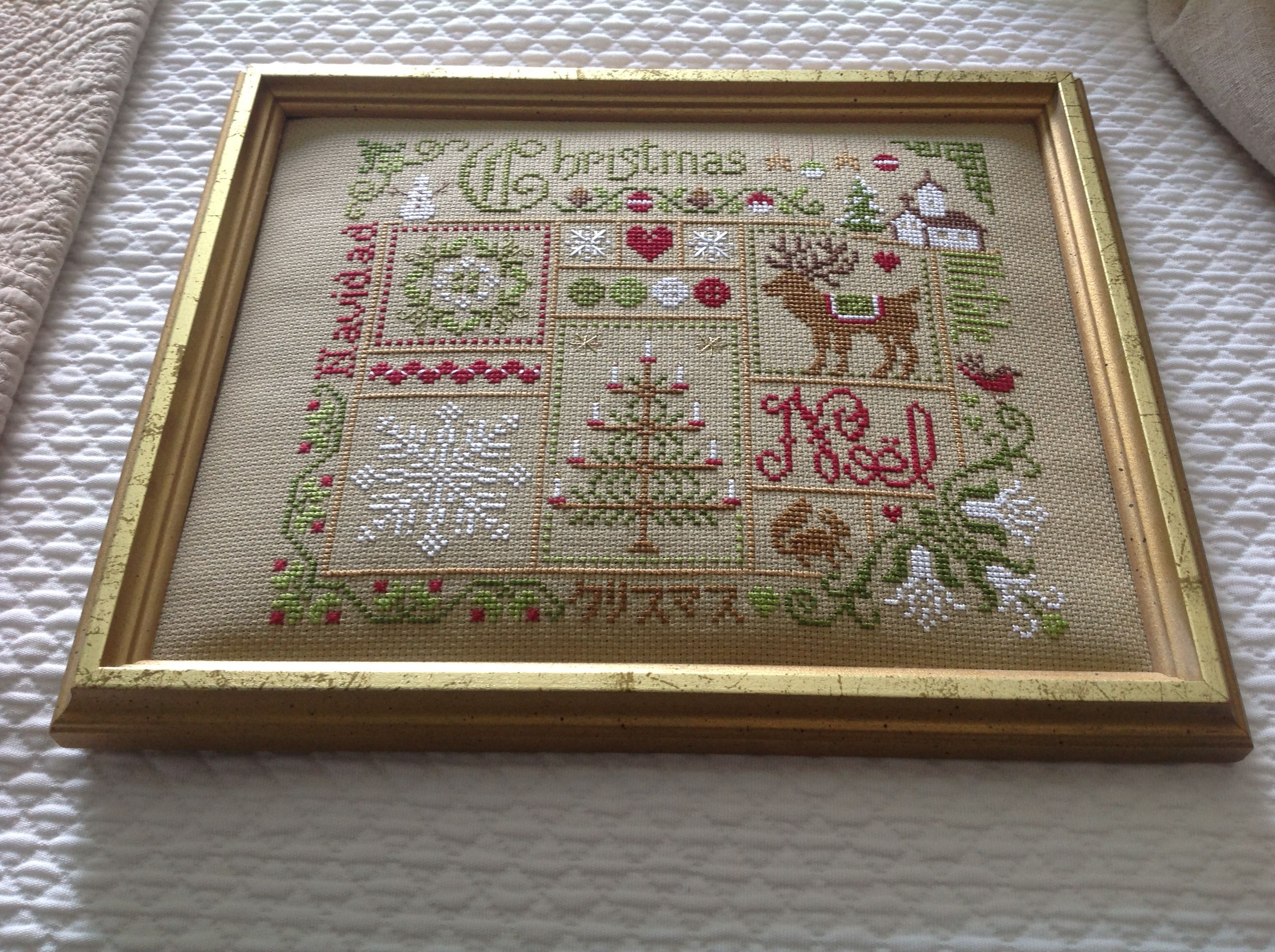 Noreen d jardin prive cross stitch winter pinterest for Jardin prive