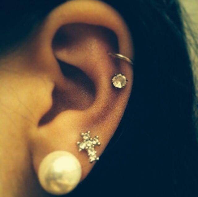 Ear piercings | Piercings♥ | Pinterest Ear Piercings Pinterest