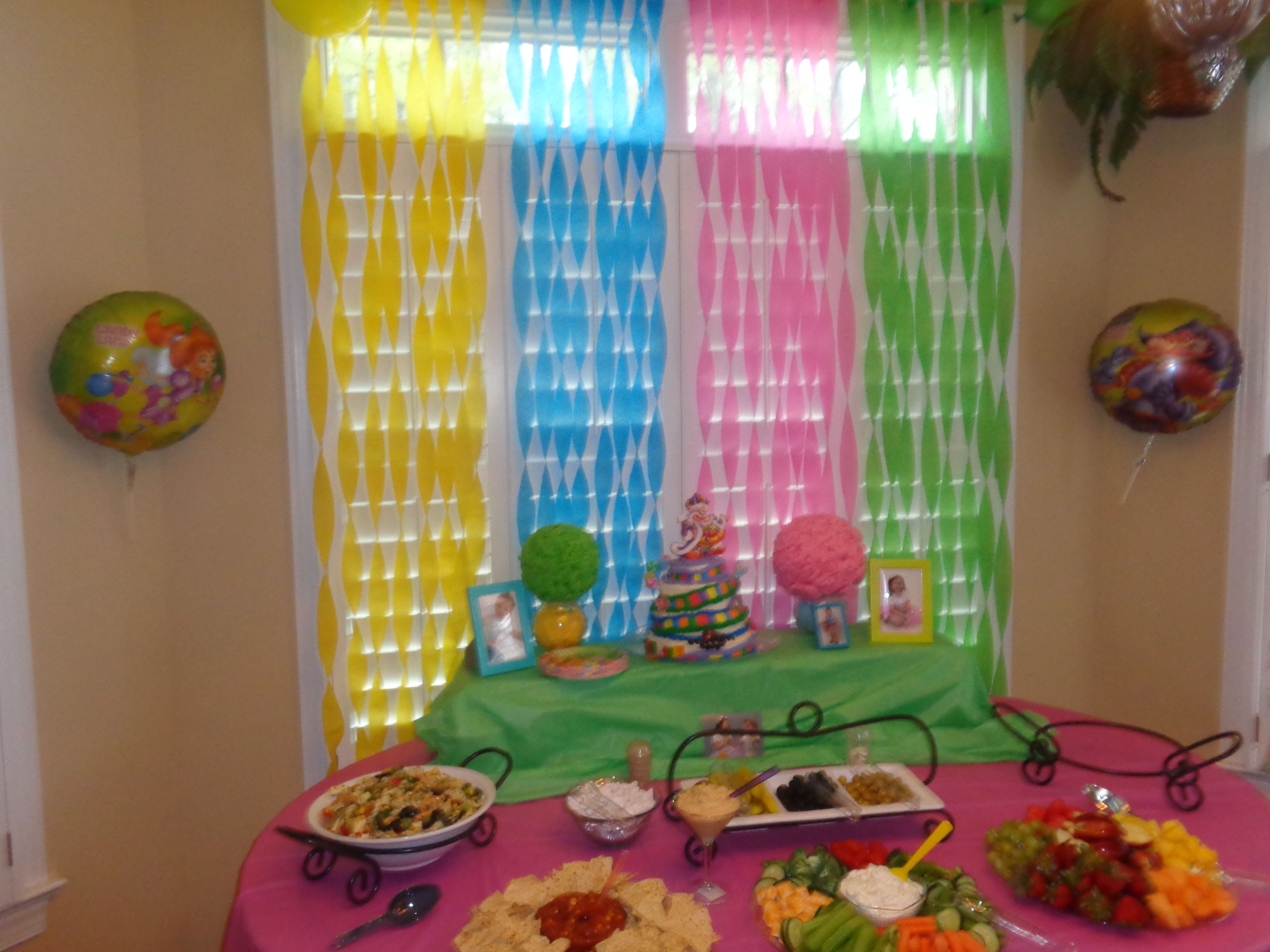 Candyland Party Decorations Candyland Party Pinterest