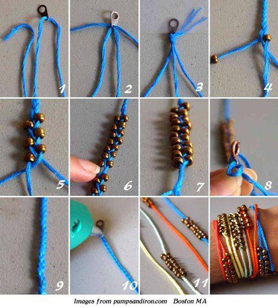 Плетение из шнуров своими руками