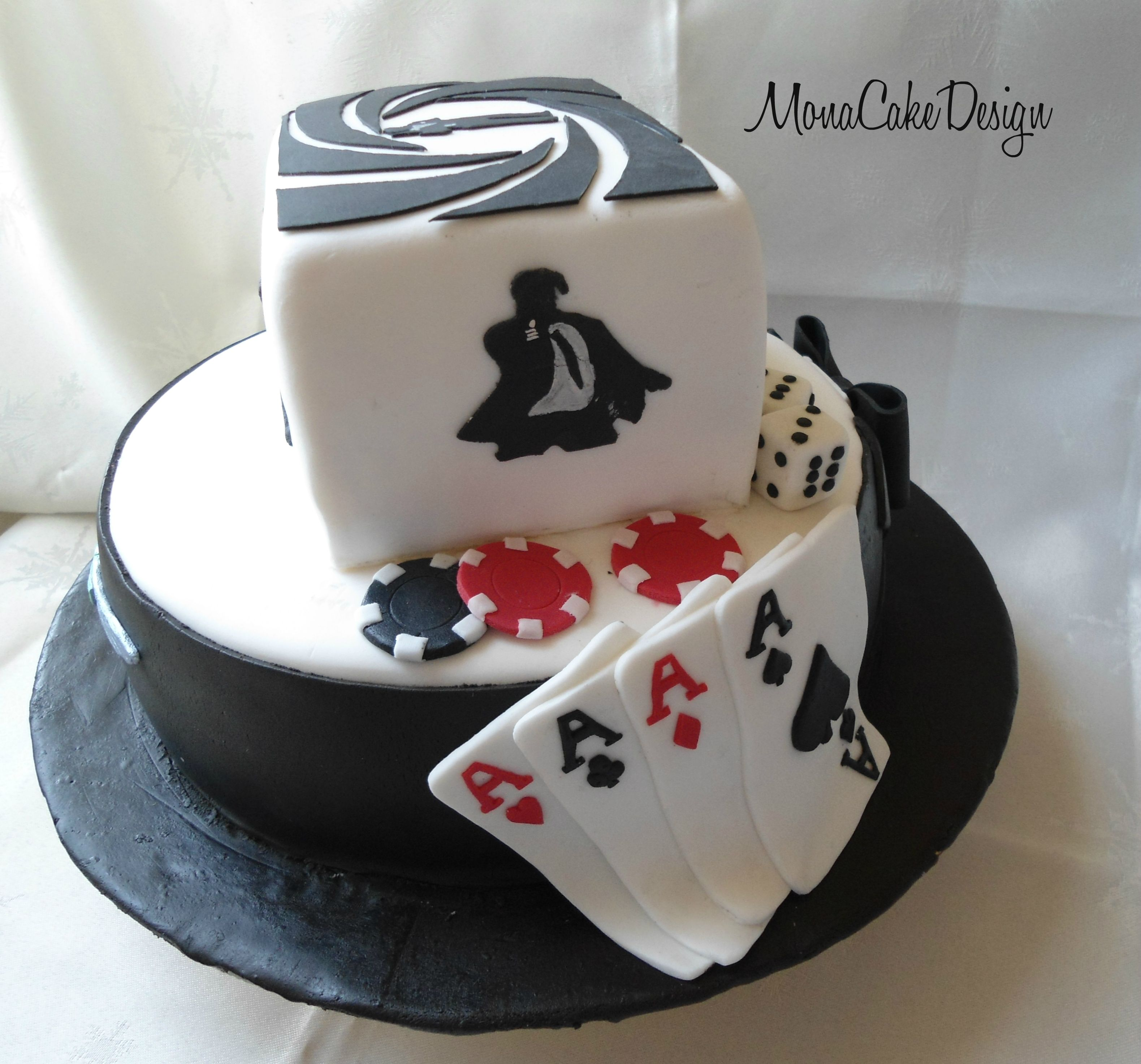 Cake Design James Bond : James Bond Cake MonaCakeDesign Pinterest