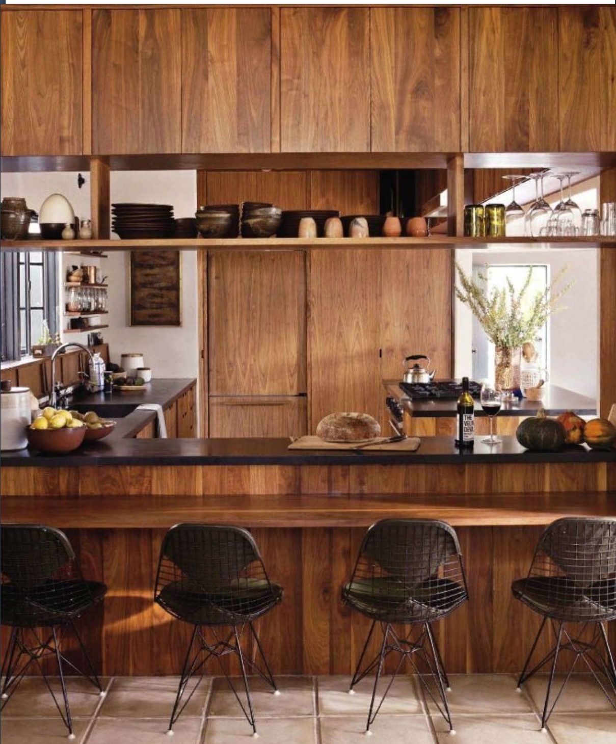 warm timber kitchen design home sweet home pinterest