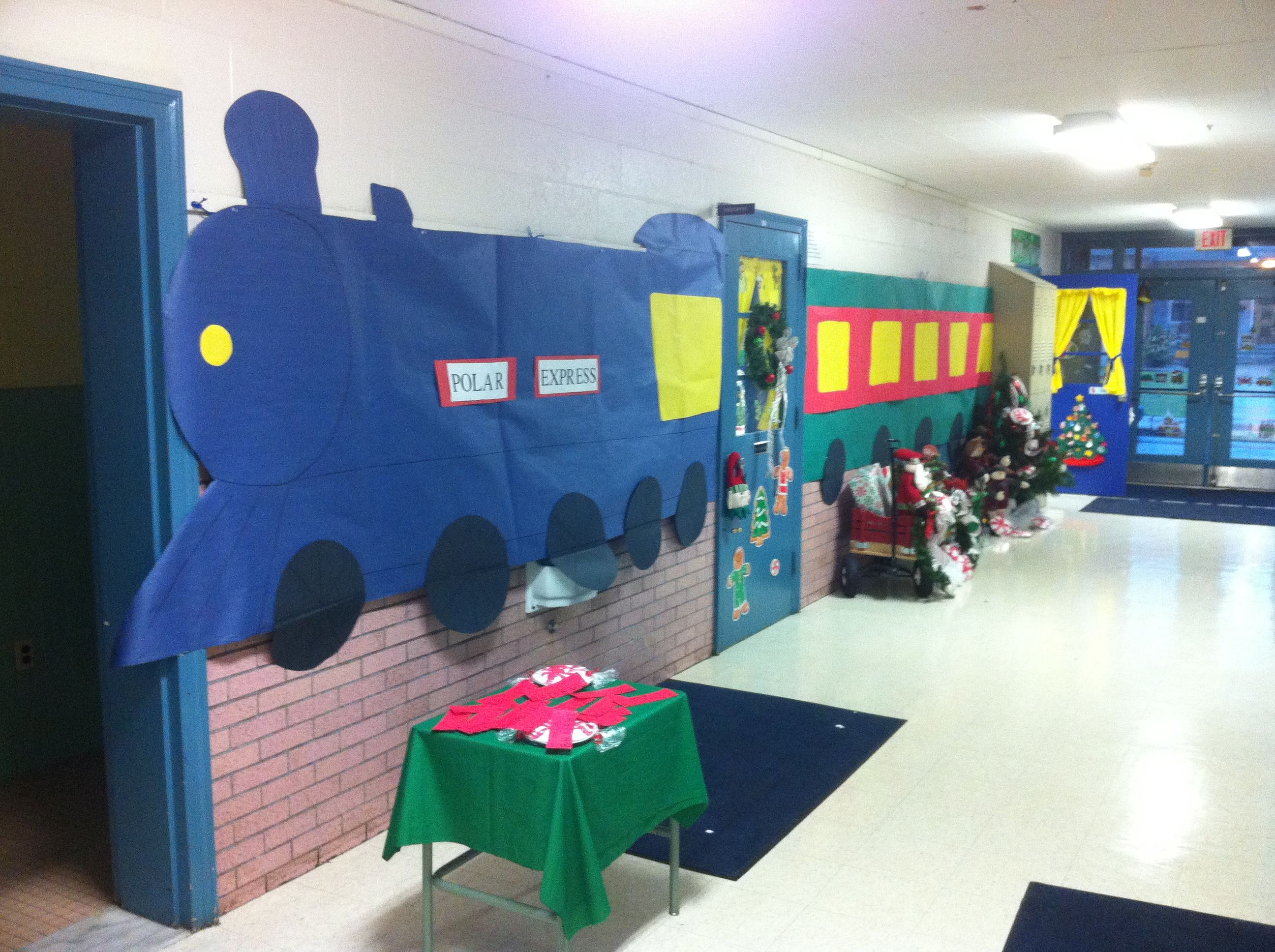 training christmas parties ideas the polar express