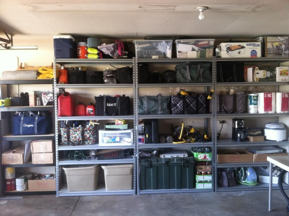 Garage storage ideas craft ideas pinterest for Shelving and storage ideas