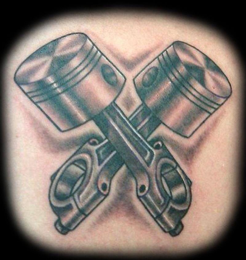 V8 Piston Tattoo Piston tattoo | Tattoo...