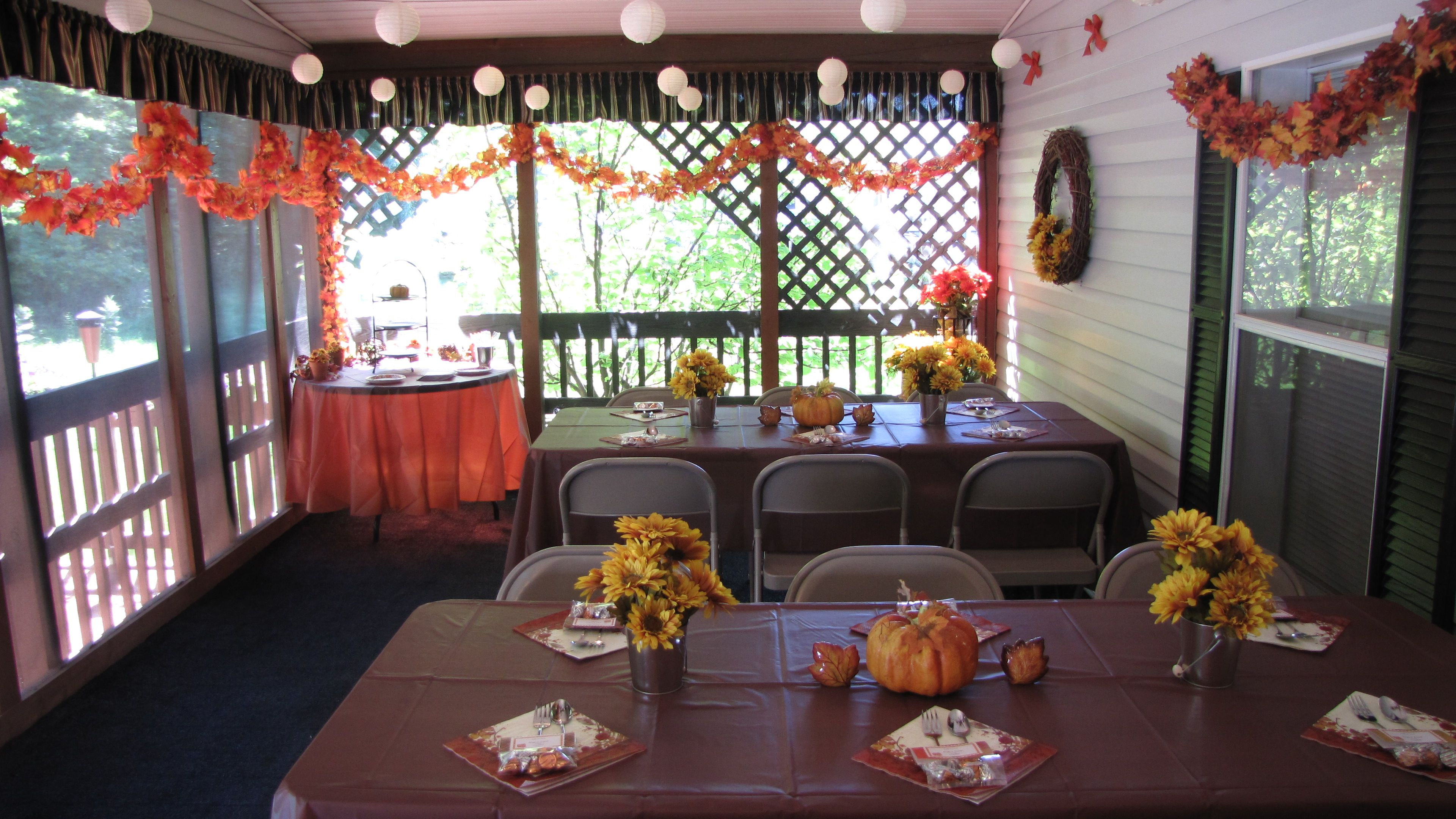 Fall bridal shower decorations parties pinterest