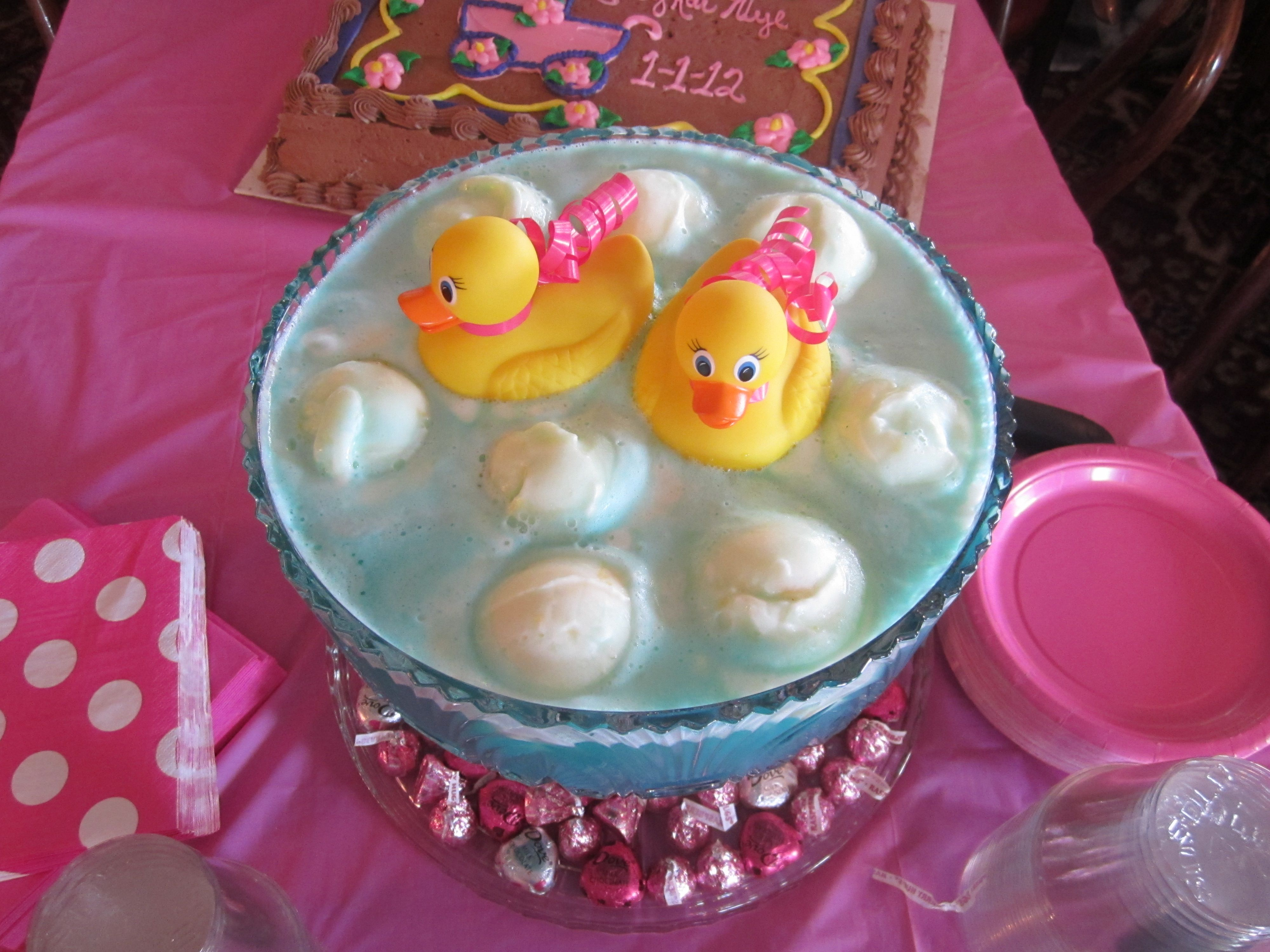fun punch for a baby shower event ideas pinterest