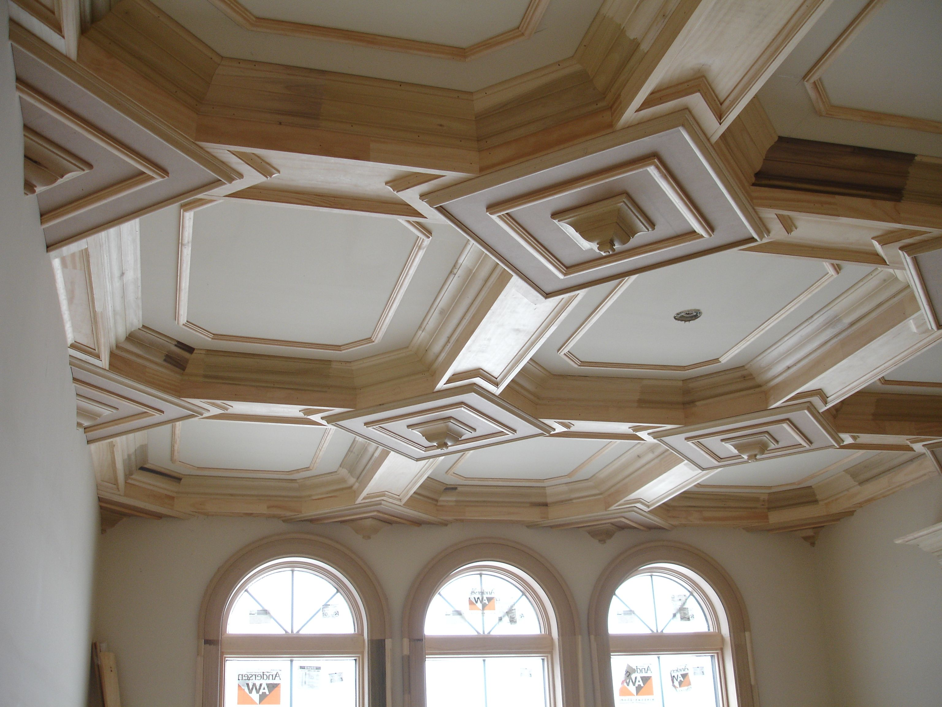 Coffered ceiling ceiling designs pinterest for Coffered ceiling styles
