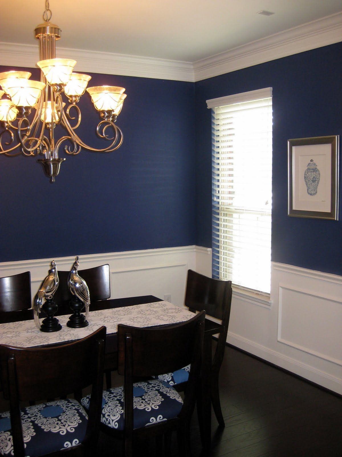 Great wall color contrast  Home Decor  Pinterest