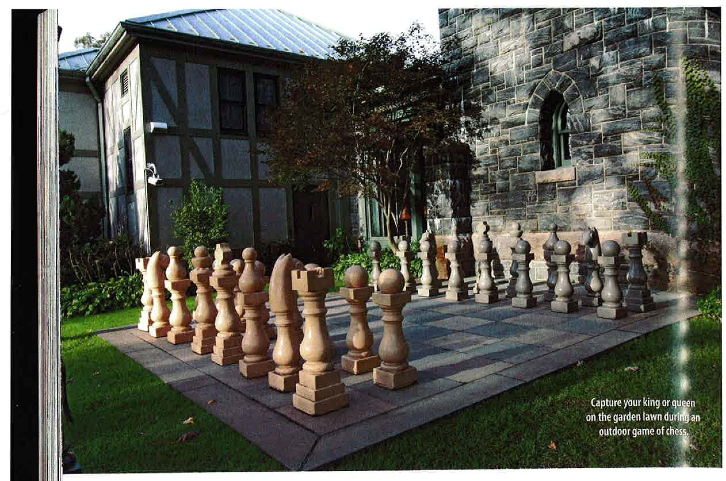 outdoor chess set interesting ideas pinterest