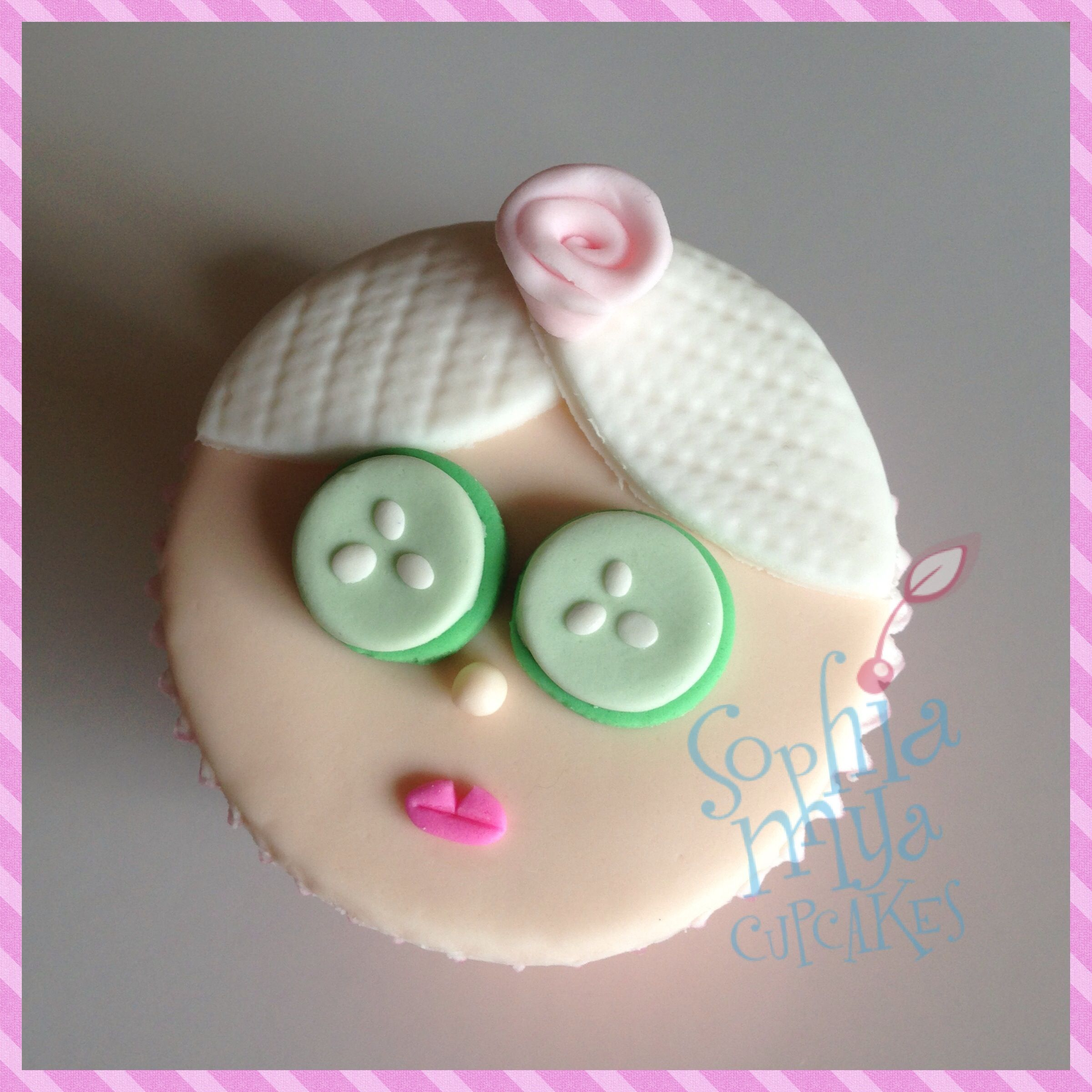 Pamper Party Cake Images : Pamper party cupcakes Party ideas 2015 Pinterest
