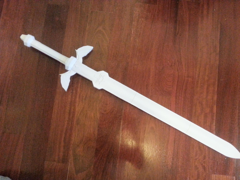 Как сделать из бумаги меч самурая