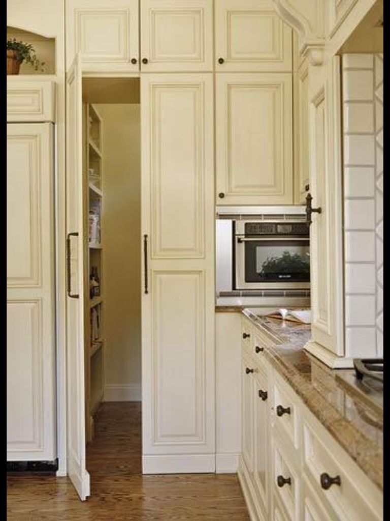 Hidden pantry in my next kitchen pinterest for Hidden pantry doors